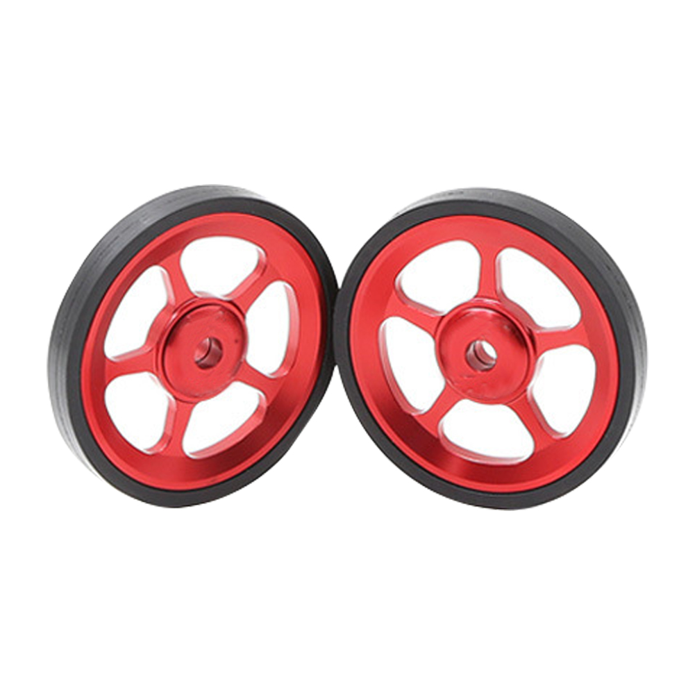1pair Outdoor Super Light Riding Modification Mini Stable Sports Easy Wheels For Brompton Cycling Folding Bike Bicycle 29.5g