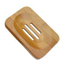 1 шт. бамбуковый мыльница поднос с дренаж для мыла держатель для мыла, ящик для столешницы для душа, кухни, ванной комнаты