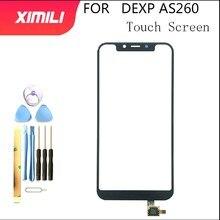 """5.8 """"dla DEXP AS260 ekran dotykowy Digitizer czujnik dotykowy zamiennik zespołu panelu dla DEXP AS260 telefon z narzędziami"""