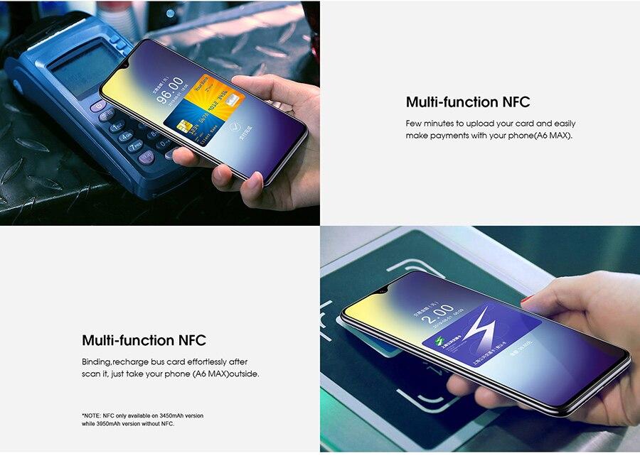 Мобильный телефон Elephone A6 Mini 5,71 ''с Каплевидным экраном Android 9,0 MT6761 четырехъядерный HD + 4 ГБ 32 ГБ/64 Гб 16 МП 4G LTE смартфон - 6