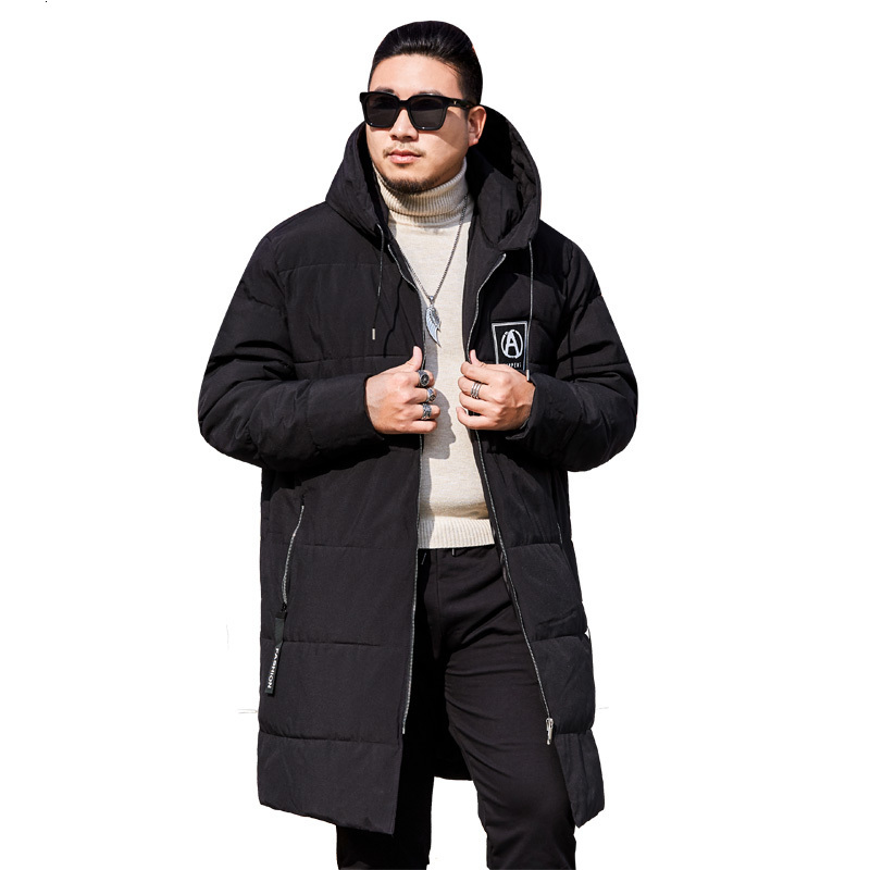 Big Plus Size 8xl 7xl Parkas Men New Arrival Winter Casual Long Section Warm Thick Fashion Hooded Coat Outerwear High Quality