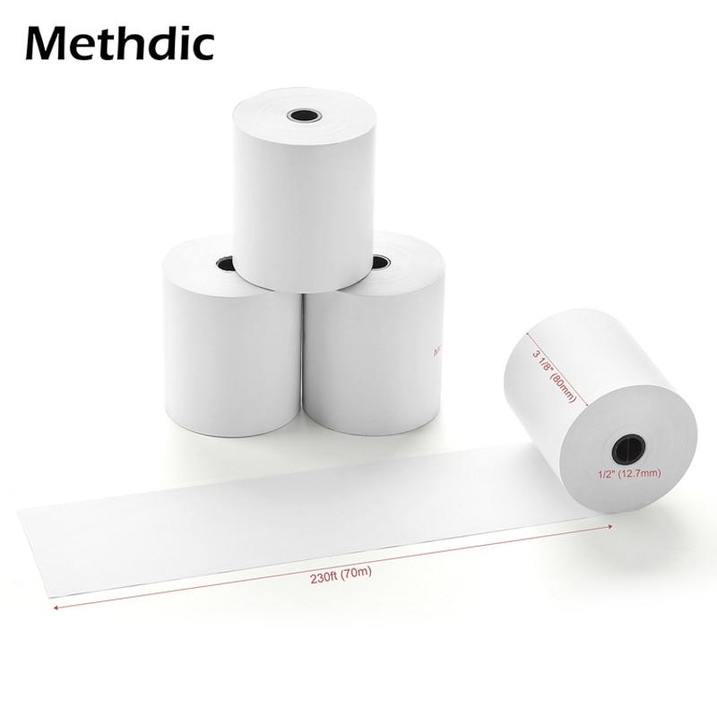 Methdic 3 1/8 X 230 Thermal Paper 10Rolls/box For Cash Register Pos