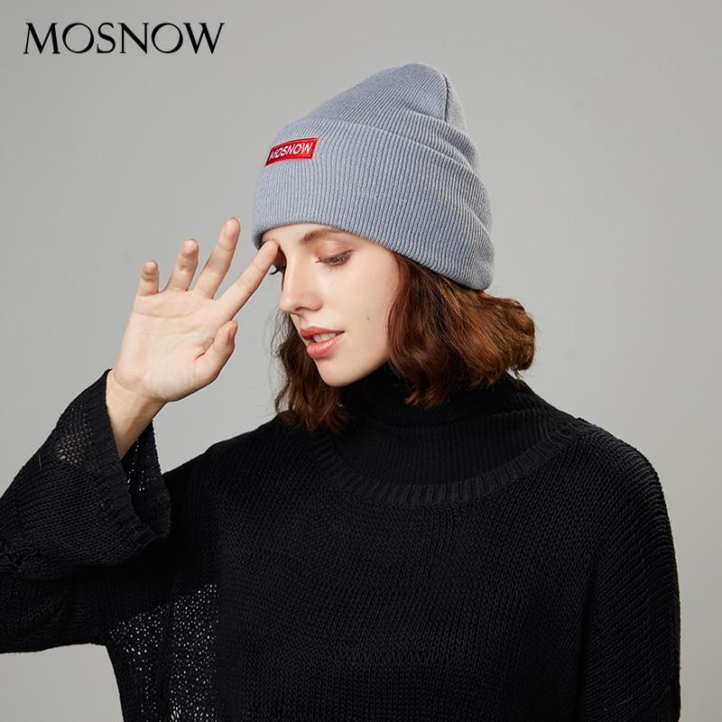 Winter Hats Beanies Knitted-Hat Embroidery Autumn Ski-Cap Skullies Warm Girl Women Casual