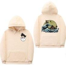 Dragon Ball Mens Winter Thick Cotton Pullover Hooded Harajuku Streetwear Xxxtentacion Sweatshirts 3D Hoodies