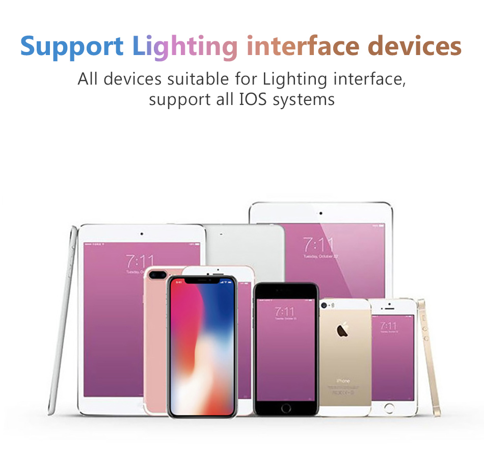 2 in 1 Charging Lighting Adapter For iPhone X 7 8 plus XS MAX Splitter 3.5mm Jack Earphone Aux Cable Connecter Adapters (8)