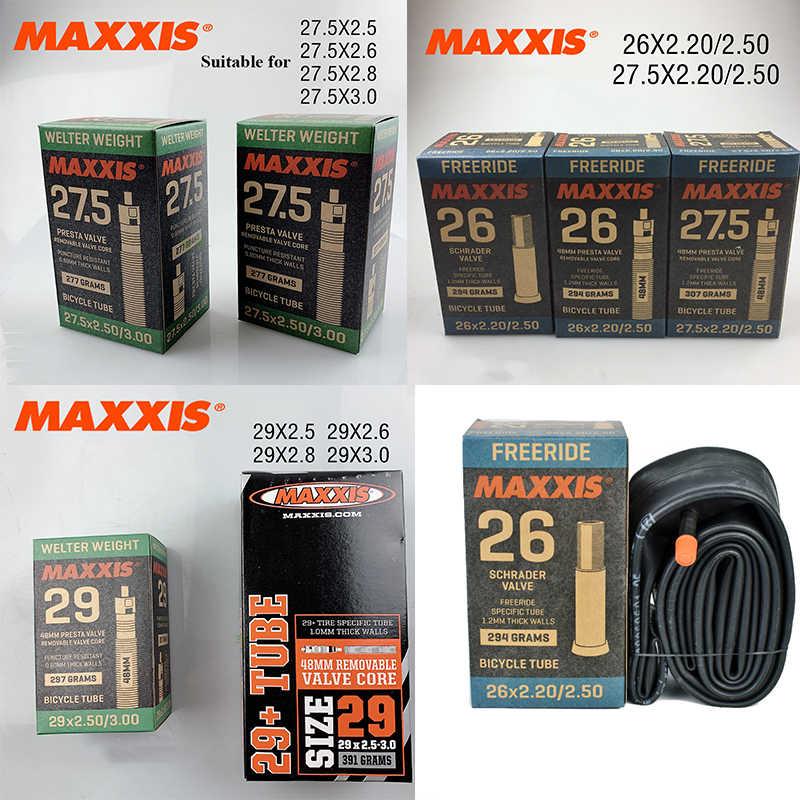Maxxis Welter Weight 27.5x2.2-2.5 Bike Inner Tube Schrader AV