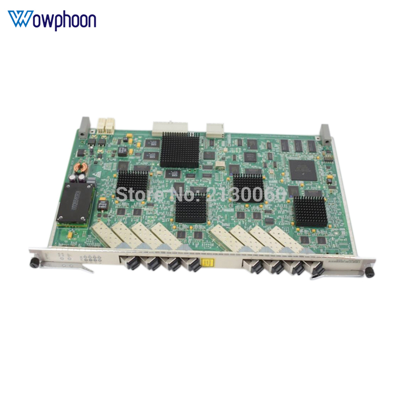 HUAWEI OLT EPBD 8 ports EPON board EPBD for MA5680t MA5683T <font><b>MA5608T</b></font> with 8 SFP modules PX20+ image