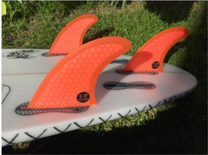 Image 4 - Surf Fins FCS2 Fins G5 FCS II Tri fin set Fiberglass new design blue,red, yellow,black,white,green color