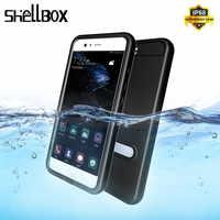 SHELLBOX Original Tampa Do Caso Para Huawei P10 Smartphone À Prova D' Água de Natação Caixa Estanque para Huawei P10 Nova Caso À Prova D' Água