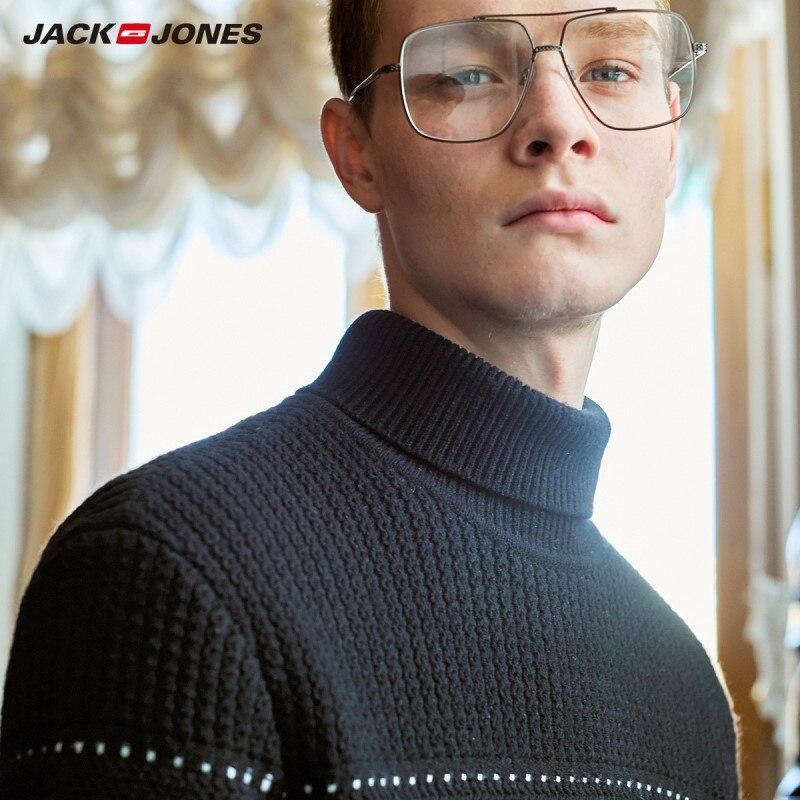 JackJones Men's Winter Solid Colour Turtleneck Sweater 219324501