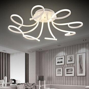 aluminum ceiling lights led bedroom foyer light eclairage plafonnier flush mount living room home deco ceiling lamp