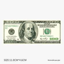 1 шт стикер с рисунком денег ПВХ водонепроницаемые наклейки