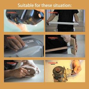 Image 3 - Visbella 2Pcs 7 Tweede Speedy Fix Quick Bonding Lijm Poeders Voor Metaal Staal Plastic Hout Keramische Reparatie Lijm Versterkende