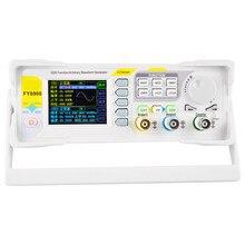 Fy6900 2 canais dds gerador de sinal display digital forma de onda arbitrária pulsefrequency contador 20mhz 40mhz 50mhz 60mhz lb88