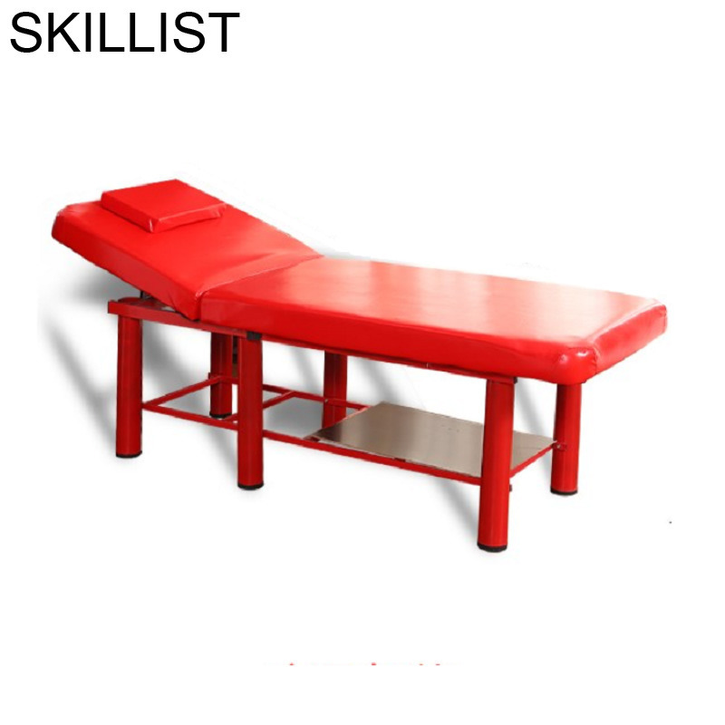 Cadeira De Massagem Foldable Tempat Tidur Lipat Massagetafel Pedicure Cama Para Masaje Folding Salon Chair Table Massage Bed