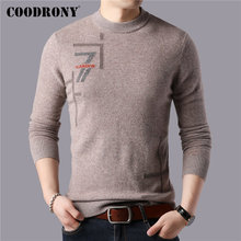 COODRONY Brand 100% Merino Wool Sweater Men Casual O-Neck Pull Homme Winter Thick Warm Soft Cashmere Sweaters Pullover Men 93051 coodrony brand sweater men 100