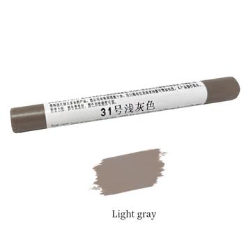 Jasnoszare meble drewniane naprawa podłóg długopisy uszkodzone usuwanie zarysowań kredki jasnoszare materiały naprawcze darmowa wysyłka tanie i dobre opinie 1 pc Inne Environmental Wax Furniture repair Light Gray