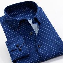 5XL 6XL 7XL 8XL 9XL 10XL classic brand printing men's casual shirt 2021 spring trend pattern fashion loose long-sleeved shirt