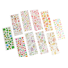 50packs/lot Korean Hot Stamping Transparent Self-adhesive To Personalize Merry Christmas Stickers Diary Album Stickers