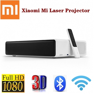 Xiaomi Mi Laser Projector Full HD 1080P Phone Android TV WIFI bluetooth ALPD 3.0 5000Lumen 2GB 16GB Prejector English Version