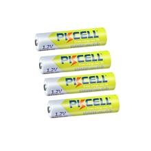 4/ 8 шт. PKCELL аккумуляторы aaa  AAA аккумулятор Перезаряжаемые Батарея 3A 1000 мА/ч, 1,2 аккумулятор с напряжением AAA Батарея батареи Перезаряжаемые aaa до 1000 круг раз