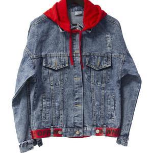 Модные Летные куртки Harajuku, свободные джинсовые куртки для женщин джинсовое пальто с узором хип-хоп толстовки куртки повседневные женские