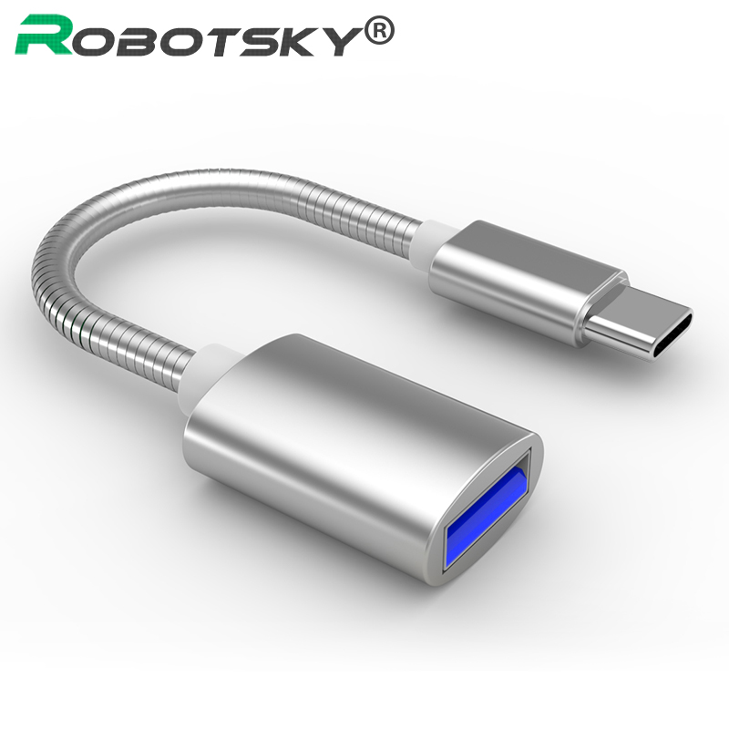NEW USB C Adapter OTG Cable Type C Male To USB 3.0 Female OTG Type-C Adapter For Samsung Huawei One Plus MacBook USBC OTG