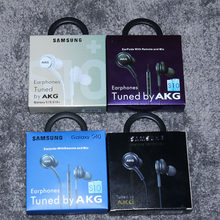 Samsung AKG — Écouteurs filaires avec contrôle du volume, micro, câble 3.5mm, pour smartphone Huawei/Samsung Galaxy S10 S9 S8 S7