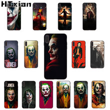 Joker Movie 2019 Smart Cover Nero Soft Shell Cassa Del Telefono per il iPhone 11 pro XS MAX 8 7 6 6S Plus X 5 5S SE XR caso(China)