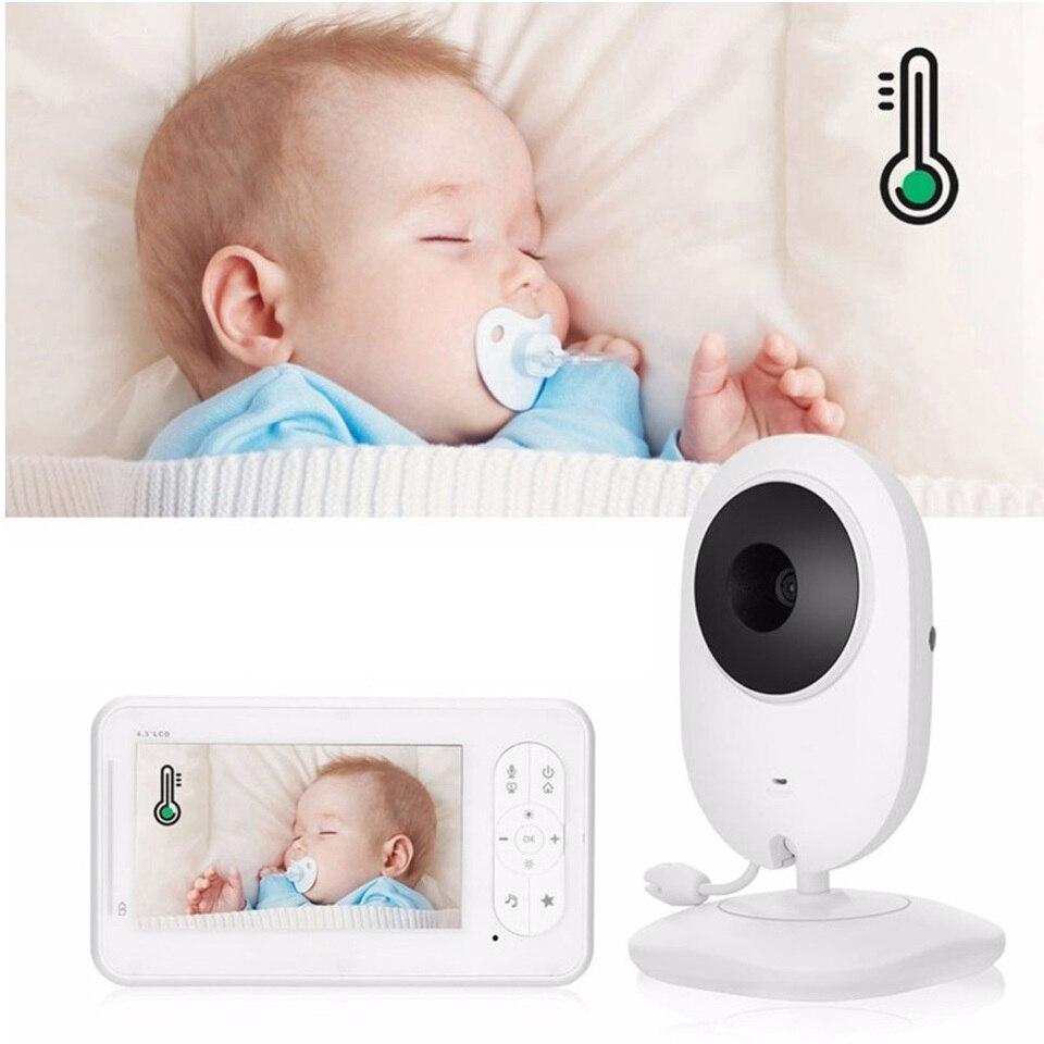 Bm520 Baby Camera Walkie Talkie Bebe Lloron 4 3 Inch Cry Babies Lcd Ir Night Vision 2 Way Talk Temperature Baby Sense Monitor Baby Monitors Aliexpress