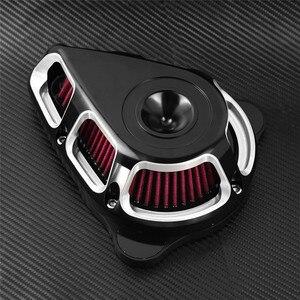 Image 5 - Filtr powietrza motocykla filtr multi angle zestawy filtrów dla Harley Sportster XL883 Touring Electra Glide Road Glide Dyna Fatboy