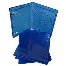10 pezzi per PlayStation CD box custodia custodia per PS3 trasparente bianco blu