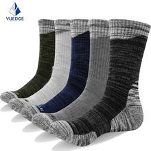 YUEDGE Men Socks Brand New Casual Business Anti-Bacterial Deodorant Breatheable Man Long Sock 5pairs / lot