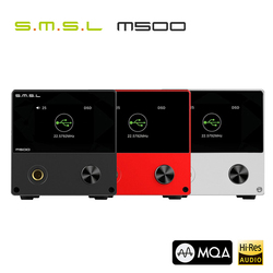 SMSL M500 USB DAC Headphone Amplifier MQA ES9038PRO ES9311 XMOS XU-216 32bit 768kHz DSD512 DoP Hi-Res Audio Decoder AMP