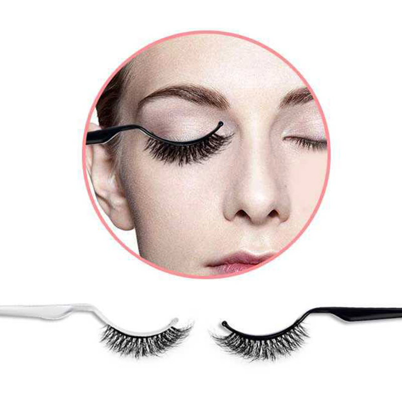 5 Pcs Bendable Grafting Eyelashes Auxiliary Tool 2 Colors False Eyelashes Extension Holder Display Stick Natural False Eyelashes