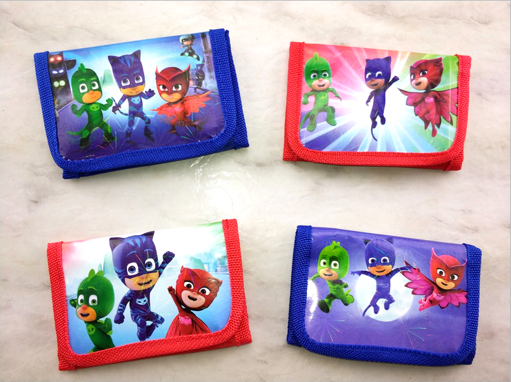 PJ Masks Cute Wallet School Supplies New Creative Wallet Children's Stationery Set Student Christmas Gift For Kids