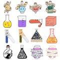 Экспериментируйте сейчас! Булавка для эксперимента по химическому стеклу, Пробирка для бутылок, бокал для вина, элемент с логотипом, медици...