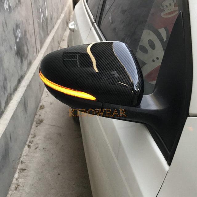 Dynamiczny migacz dla Volkswagen Golf MK6 dla GTI 6 R linia VI R20 światło kierunkowskazu LED Touran GTD boczny kierunkowskaz w lusterku dla VW