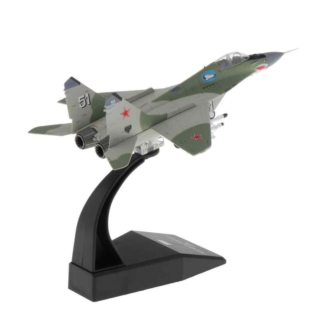 1:100 Militär Flugzeug MIG-29 Kampfflugzeug Militärflugzeug Flugzeugmodelle