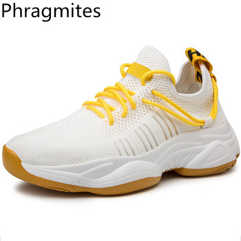 Phragmites New Mesh Men Sneakers Casual Shoes  Lightweight Comfortable Breathable Men Shoes Lac-up Men Shoes Walking Sneakers