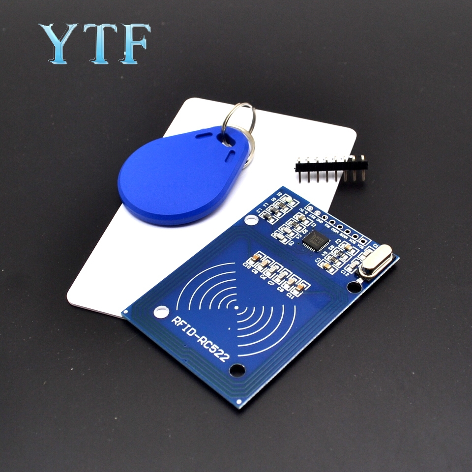 MFRC-522 RC522 Mfrc 522 RFID RF IC Card Inductive Module With Free S50 Fudan Card Key Chain