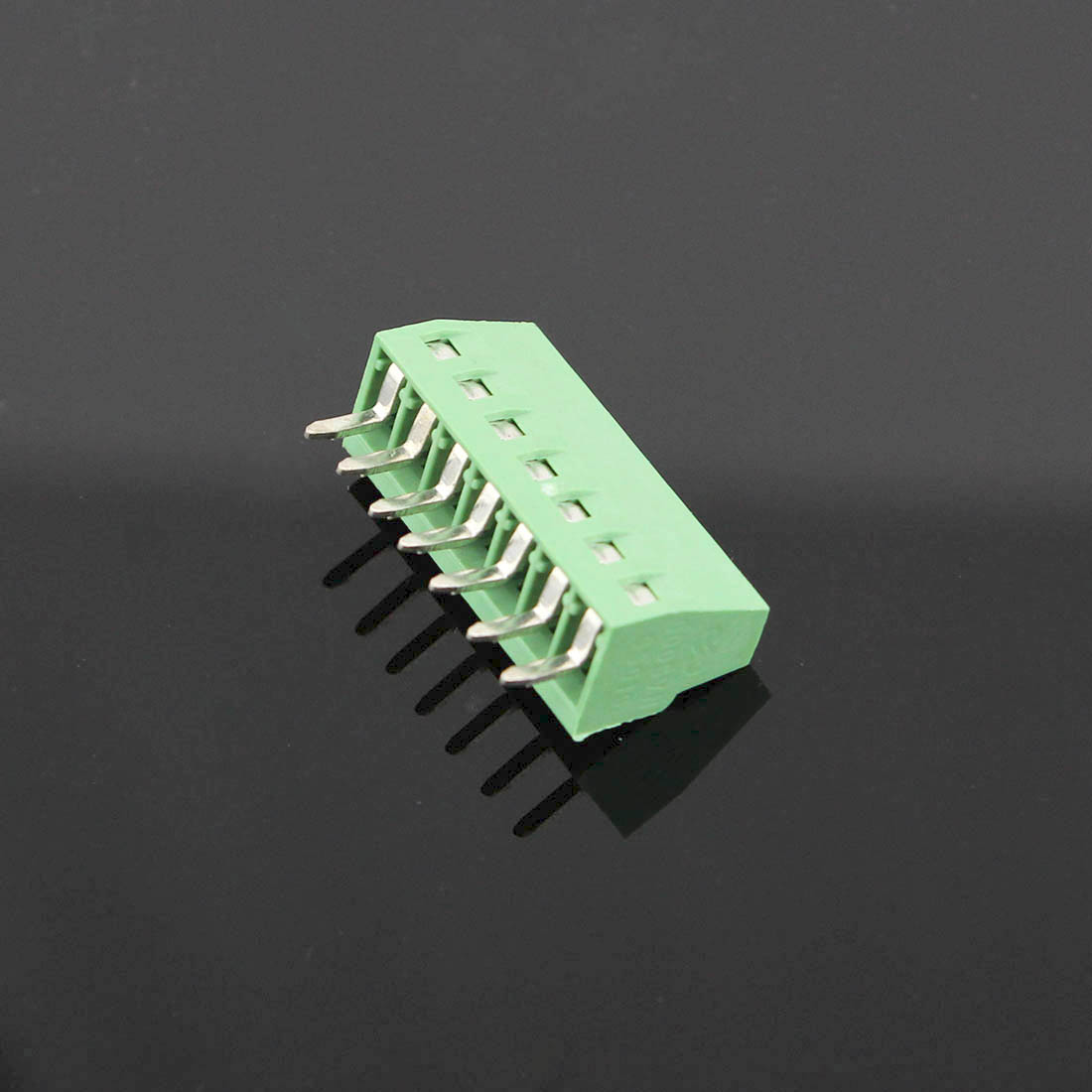 50pcs 7 pôles/7 broches 2.54mm 0.1 ''PCB connecteur de bornier à vis universel