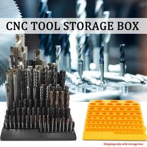 Tool-Organizer Drill-Bit Storage-Box Portable Reamer Milling-Cutter Multifunctional