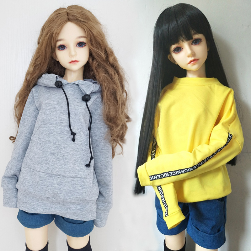 60cm 4D Big Eyes Joint Doll Clothes Dress Girls Doll Dress Up Kids Toy Gift