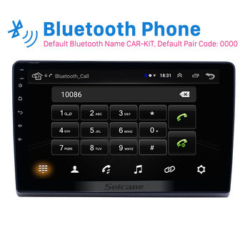 Seicane 10.1 inch 2din Android 8.1 car Radio GPS Multimedia player for 2009 2010 2011-2019 Ford New Transit support Carplay SWC