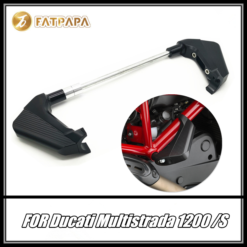 FOR DUCATI MULTISTRADA 1200 S Motorcycle Accessories Body Frame Guard Protection Slider