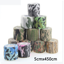 7pcs/lot camouflage Kinesiology Tape Sports Bandage Non-woven Fabric Recovery Athletic  Fitness Protector Muscle Elastic Strap 7pcs lot kinesiology tape physical therapy sports bandage recovery athletic fitness protector knee pain muscle elastic strap