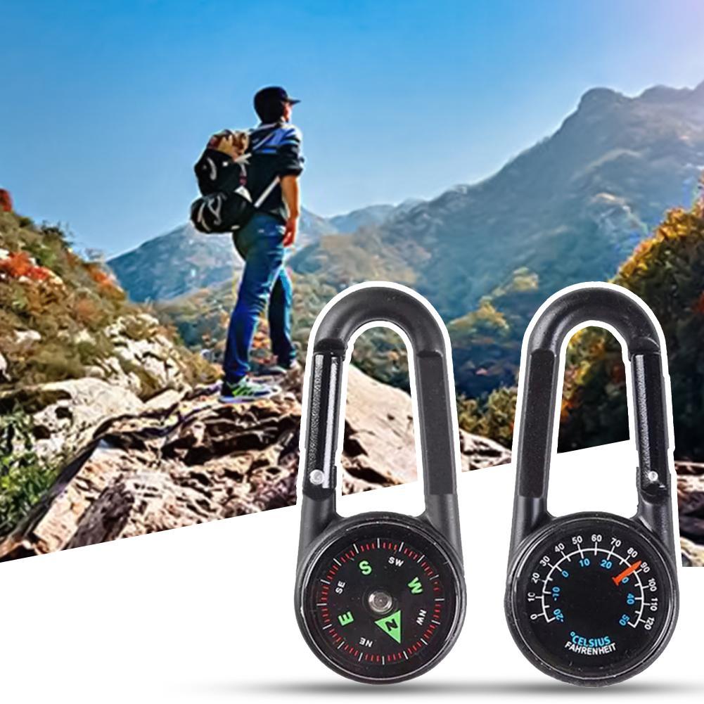 Mini O Ring Screw Lock Carabiner Keychain Hiking Climbing Backpack Key Hook