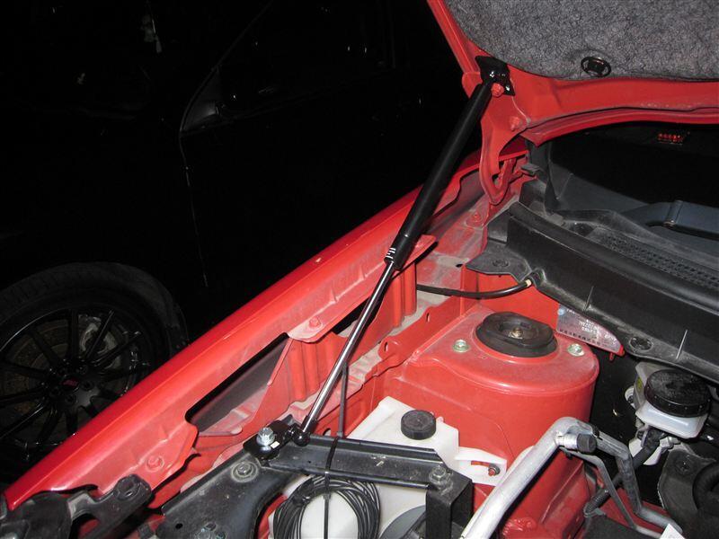 For Nissan Juke 2010-2019 Front Hood Bonnet Modify Gas Struts Shock Damper Lift Supports  Absorber