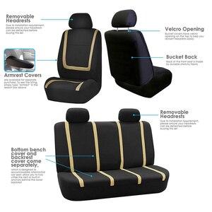 Image 3 - אוטומטי מכונית אביזרי רכב סטיילינג אוניברסלי גודל רכב מושב מגן מחצלת כרית בד רכב מושב מכסה רכב מכסה עבור Bmw אאודי פולקסווגן
